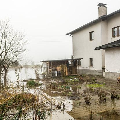 Intempéries jardin Ohain - Maubeuge, Fourmies